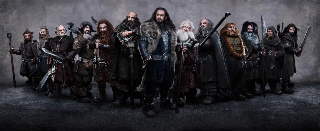 El Hobbit 13 Enanos todos los enanos