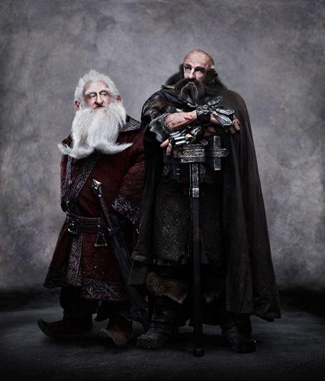 Balin y Dwalin El Hobbit