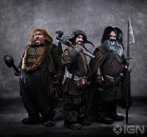 Bifur, Bofur y Bombur El Hobbit
